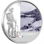 "Silver Coin GALLIPOLI 2011 ""Famous Battles in Australian History"" Series"