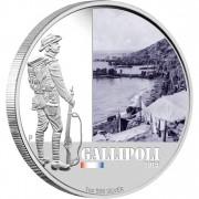 "Silver Coin GALLIPOLI 2011 ""Famous Battles in Australian History"" Series"