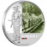 "Silver Coin KOKODA 2012 ""Famous Battles in Australian History"" Series"