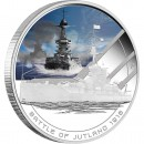 "Silver Coin BATTLE OF JUTLAND 2011 ""Famous Naval Battles"" Series"