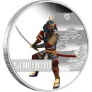 "Silver Coin SAMURAI 2010 ""Great Warriors"" Series"