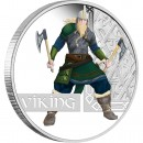 "Silver Coin VIKING 2010 ""Great Warriors"" Series"