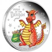Silver Coin BABY DRAGON 2012