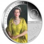 Silver Coin H. M. QUEEN ELIZABETH II - DIAMOND JUBILEE 2012