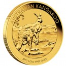 Gold Bullion Coin AUSTRALIAN KANGAROO 2013  - 1/2 oz