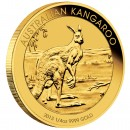 Gold Bullion Coin AUSTRALIAN KANGAROO 2013  - 1/4 oz
