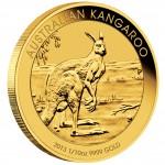 Gold Bullion Coin AUSTRALIAN KANGAROO 2013  - 1/10 oz