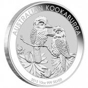Silver Bullion Coin AUSTRALIAN KOOKABURRA 2013 - 10 oz