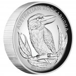 Silver High Relief Coin AUSTRALIAN KOOKABURA 2012 - 1 oz, Proof