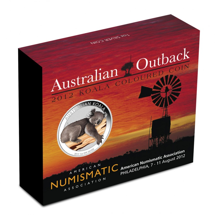 Silver Coin Koala 2012 Quot Australian Outback Series 1oz