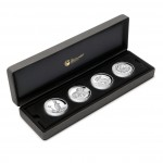 """High Relief  2012"" Series Four Silver Coin Set"
