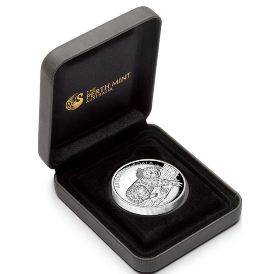 Silver High Relief Coin Australian Koala 2012 1 Oz Proof