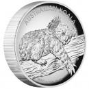 Silver High Relief Coin AUSTRALIAN KOALA 2012 - 1 oz, Proof