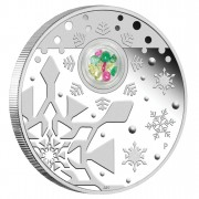 Silver Coin CHRISTMAS LOCKET 2012 - 1oz, Proof