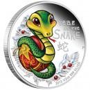 Silver Coin BABY SNAKE 2013 - 1/2 oz