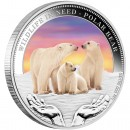 "Silver Coin POLAR BEAR 2012 ""Wildlife in Need"" Series"