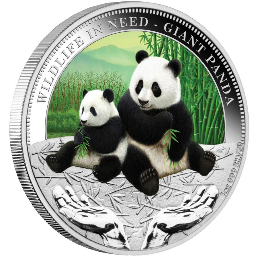 Silver Coin Panda 2011 Quot Wildlife In Need Quot Series
