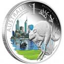 """Silver Coin PERTH - WESTERN AUSTRALIA 2011 """"ANDA. Celebrate Australia"""" Series"""