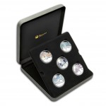 """Famous Ballets"" 2010 Series Five Silver Colored Coins Set"