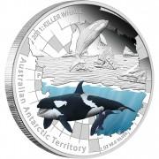 "Silver Coin THE KILLER WHALE 2011 ""Australian Antarctic Territory"" Series"