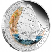 """Silver Coin CUTTY SARK 2012 """"Ships That Changed the World"""" Series"""