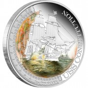 "Silver Coin USS CONSTITUTION 2012 ""Ships That Changed the World"" Series"