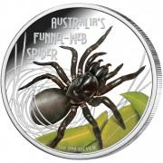 Silver Coin AUSTRALIAN'S FUNNEL-WEB SPIDER 2012