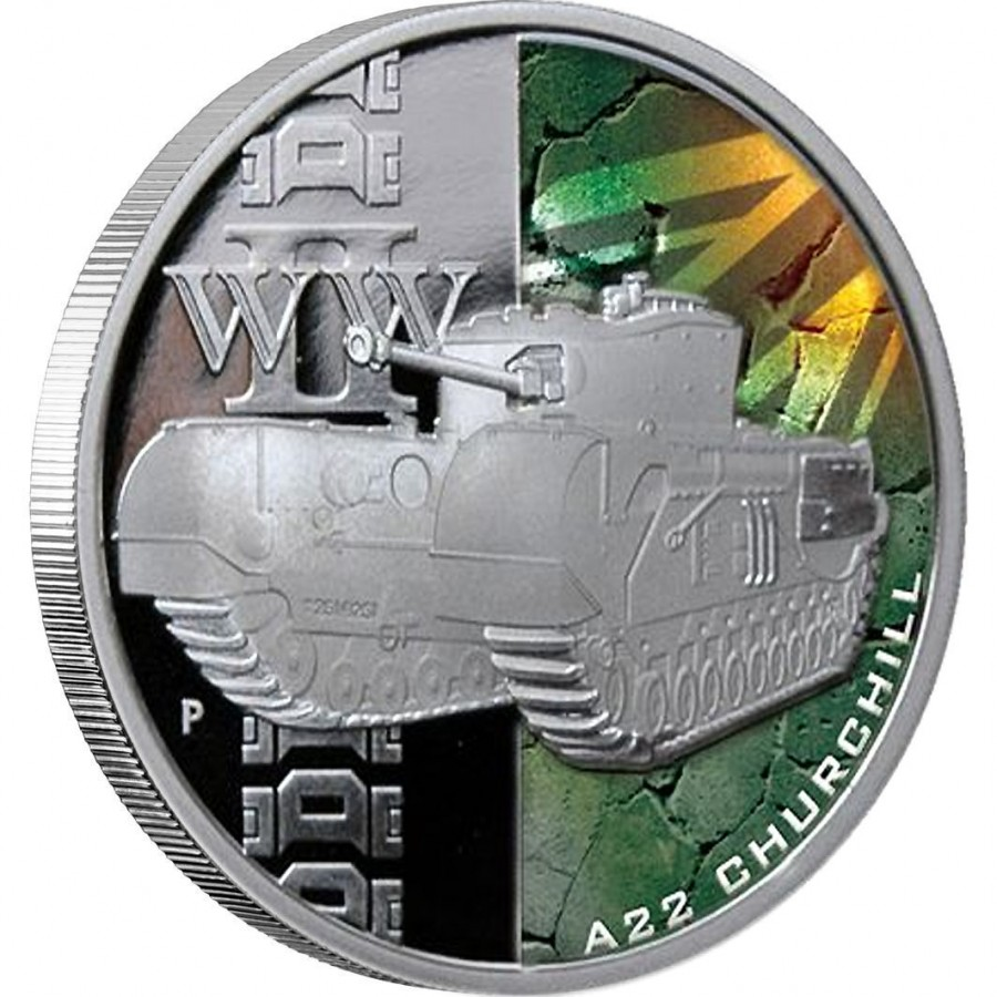 Quot Tanks Of Wwii Quot 2010 Series Five Silver Coins Set