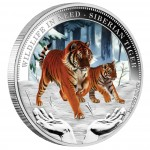 "Silver Coin SIBERIAN TIGER 2012 ""Wildlife in Need"" Series"