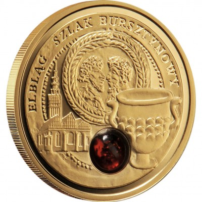 "Gold Coin ELBLAG 2009 ""Amber Route"" Series"