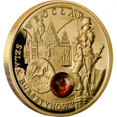 """Gold Coin WROCLAW 2009 """"Amber Route"""" Series"""