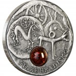 """Silver Coin HRADISKO 2010 """"Amber Route"""" Series"""