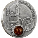"Silver Coin SZOMBATHELY 2010 ""Amber Route"" Series"