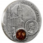 """Silver Coin SZOMBATHELY 2010 """"Amber Route"""" Series"""