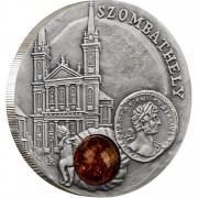 Серебряная монета ЗОМБАТЕЛИ 2010 серии «Янтарный Путь»