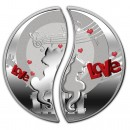 IN LOVE Two Coin Set 2013, Niue - 1 x 2 oz