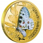 "Gold Coin APOLLO 2011 ""Butterflies"" Series"