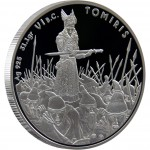 """Silver Coin TOMIRIS 2010 """"Great Commanders"""" Series"""