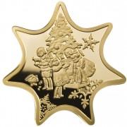 Gold Coin CHRISTMAS STAR 2010