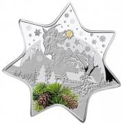 Silver Coin CHRISTMAS STAR 2012