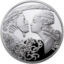 "Silver Coin ROMEO AND JULIET 2010 ""Famous Love Stories"" Series"