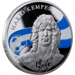 "Silver Coin MARIO KEMPES 2010 ""Kings of Football"" Series"
