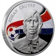 "Silver Coin JOHAN CRUYFF 2010 ""Kings of Football"" Series"