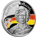 "Silver Coin FRANZ BECKENBAUER 2009 ""Kings of Football"" Series"