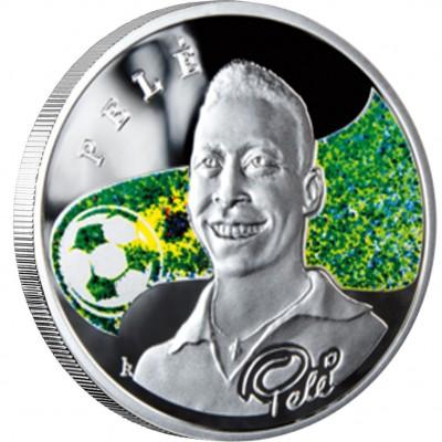 "Silver Coin PELE 2008 ""Kings of Football"" Series"