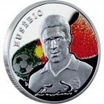 """Silver Coin EUSEBIO 2008 """"Kings of Football"""" Series"""