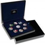 LIMITED FOOTBALL STARS COLLECTION 2008-2011 Nine Silver Coin Set