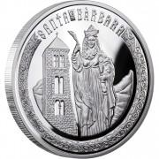 "Silver Coin SAINT BARBARA 2010 ""Holy Helpers"" Series"