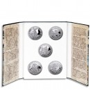 """Holy Helpers"" Series 2010-2011 Five Silver Coin Set"