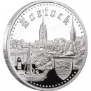 "Silver Coin ROSTOCK 2011 ""Hanseatic Towns"" Series"
